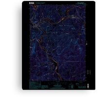 USGS TOPO Map New Hampshire NH Bristol 329491 2000 24000 Inverted Canvas Print