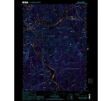 USGS TOPO Map New Hampshire NH Bristol 329491 2000 24000 Inverted Photographic Print