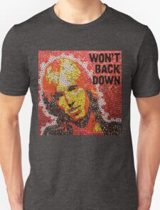 The Won't Back Down Tom - Bottle Cap Mosaic T-Shirt