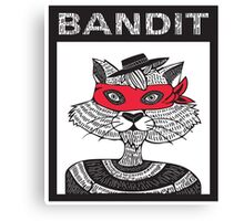 Bandit Brothers: Raccoon  Canvas Print