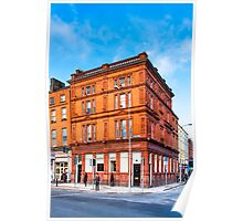 Dublin Cavendish Row on Parnell Square Poster