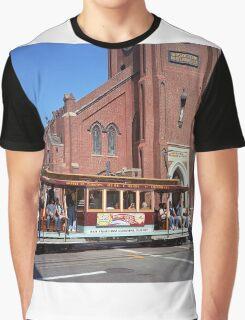 San Francisco Cable Car Graphic T-Shirt