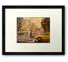 Canal Edges Framed Print