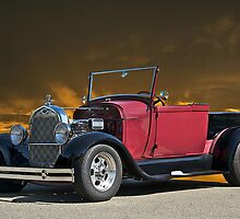 1929 Model A Roadster Pick-UP by DaveKoontz