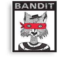 Bandit Brothers: Fox Canvas Print