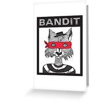 Bandit Brothers: Fox Greeting Card