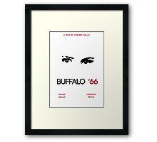 Buffalo '66 Alternate Film Poster Framed Print