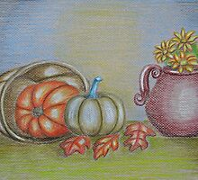still life thanksgiving  by thuraya arts