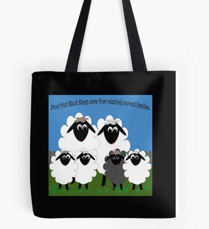 Normal Family Tote Bag