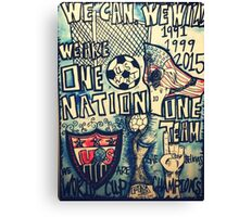 USA SOCCER Canvas Print