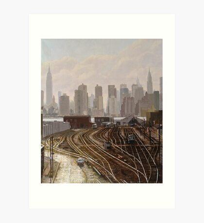 Manhattan Project Art Print