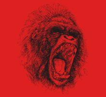 gorilla by red-rawlo