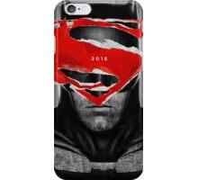 Bat v Super iPhone Case/Skin