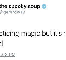gerard magic tweet by gerardslay
