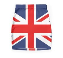 Union Jack Flag of the United Kingdom. Mini Skirt