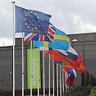 EUROPEAN FLAGS by Jack Catford