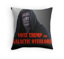 Donald TRUMP for Galactic Overlord Throw Pillow