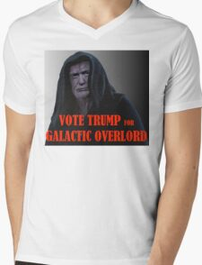 Donald TRUMP for Galactic Overlord Mens V-Neck T-Shirt