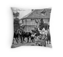 Outside the Room. Throw Pillow