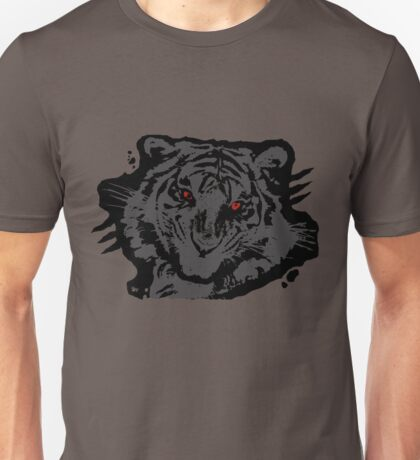 eye of the tiger red Unisex T-Shirt