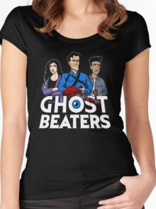 The Ghost Beaters Women's Fitted Scoop T-Shirt