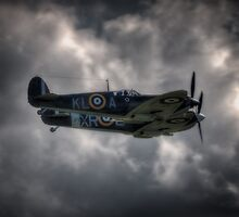 Spitfire Pair by Nigel Bangert