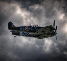 Spitfire Pair by Nigel Bangert
