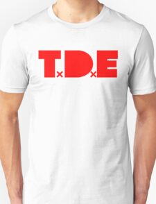 TDE TOP DAWG RED T-Shirt
