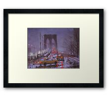 Dark Friday Framed Print