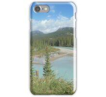 Canadian rockies iPhone Case/Skin