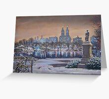 Winter Park Greeting Card