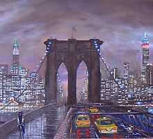 Gotham's Gates by Roman Scott