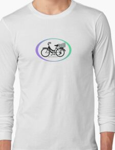 Mamachari - Everyone's favorite cruisin' bike. Long Sleeve T-Shirt