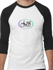 Mamachari - Everyone's favorite cruisin' bike. Men's Baseball ¾ T-Shirt