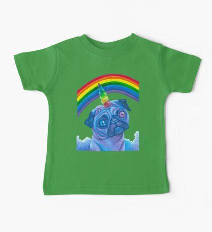 Rainbow Pugicorn Baby Tee
