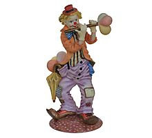Clown playing Photographic Print