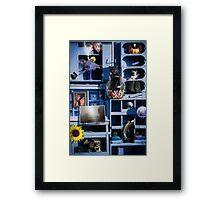 What-Not Shelf Framed Print