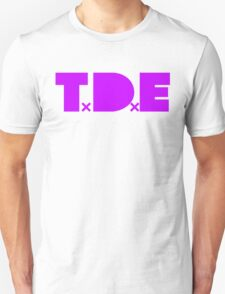 TDE TOP DAWG VIOLET PURPLE T-Shirt