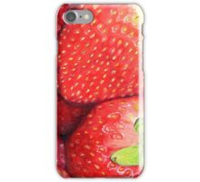 Strawberries in Coloured Pencil iPhone Case/Skin