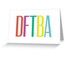 DFTBA 2.0 Greeting Card