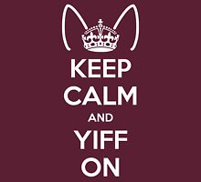 Keep Calm and Yiff On Unisex T-Shirt