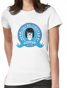 Tina Belcher Coffee Womens Fitted T-Shirt