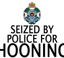 Seized by police for Hooning - QLD Police by HogarthArts