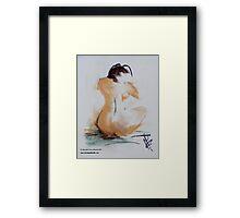 Naked I Framed Print