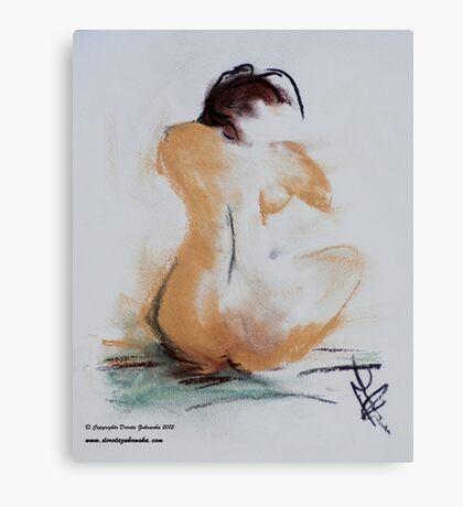 Naked I Canvas Print