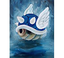 Blue Shell Photographic Print