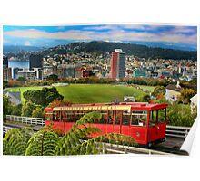 Wellington Cable Car Poster
