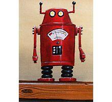 Retro Robot #2 Photographic Print