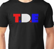 TDE TOP DAWG RED WHITE BLUE USA FOURTH OF JULY Unisex T-Shirt