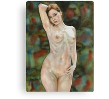 Red-haired Beauty Canvas Print